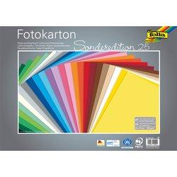Fotokarton Folia 2zijdig 50x70cm 300gr 25vel assorti