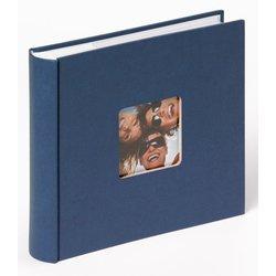 Fotoalbum Walther Fun 10x15cm 200 foto's blauw