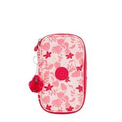 Pennenetui Kipling 50 Pens Pink Leaves