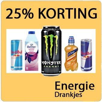 Alle Energie drankjes