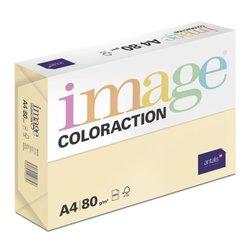 Kopieerpapier Coloraction, atoll/ivoor 80gr A4 (500vel)