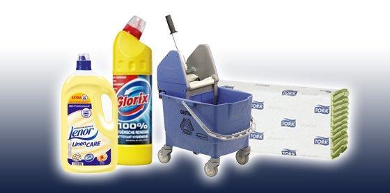 Een schone werkplek - Facilitair & Sanitair