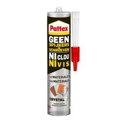 Montagekit Pattex Geen Spijkers & Schroeven Crystal 290gram