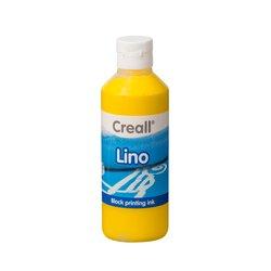 Verf linoleum Creall 01 geel 250ml