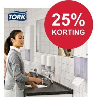 25% korting op TORK