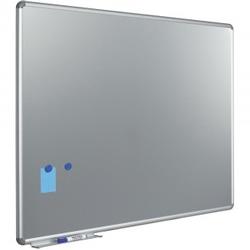 Metallic Silverboard 120x180cm zilverkleurig schrijfbord DPA16